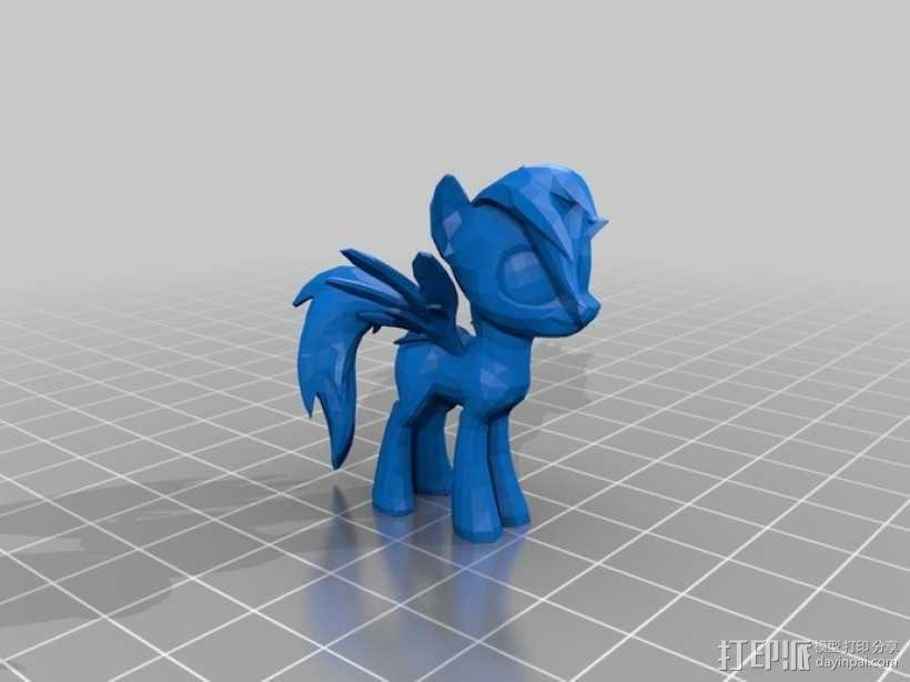 我的小马驹 小马驹模型 3D模型  图5