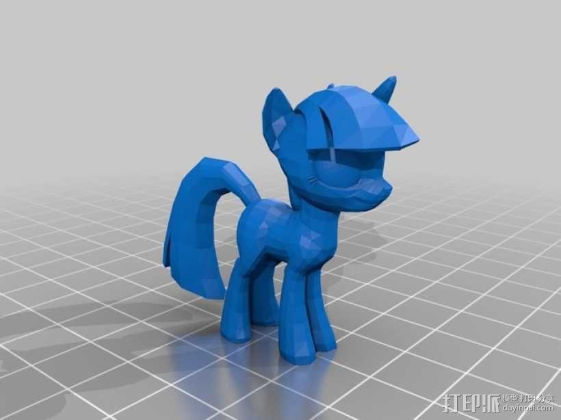我的小马驹 小马驹模型 3D模型  图6