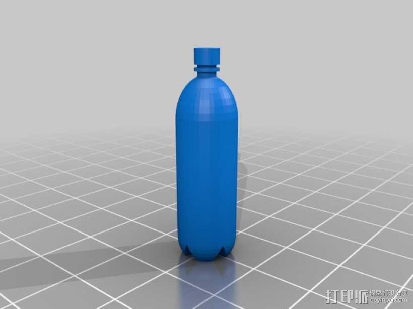 塑料瓶 3D模型  图1
