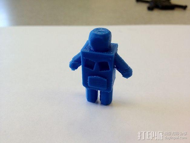 迷你机器人 3D模型  图2