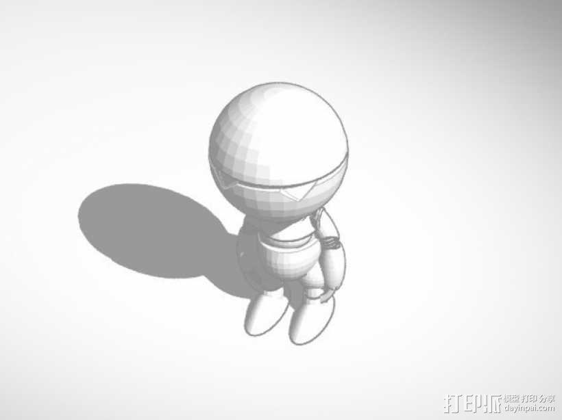 机器人马文 3D模型  图2