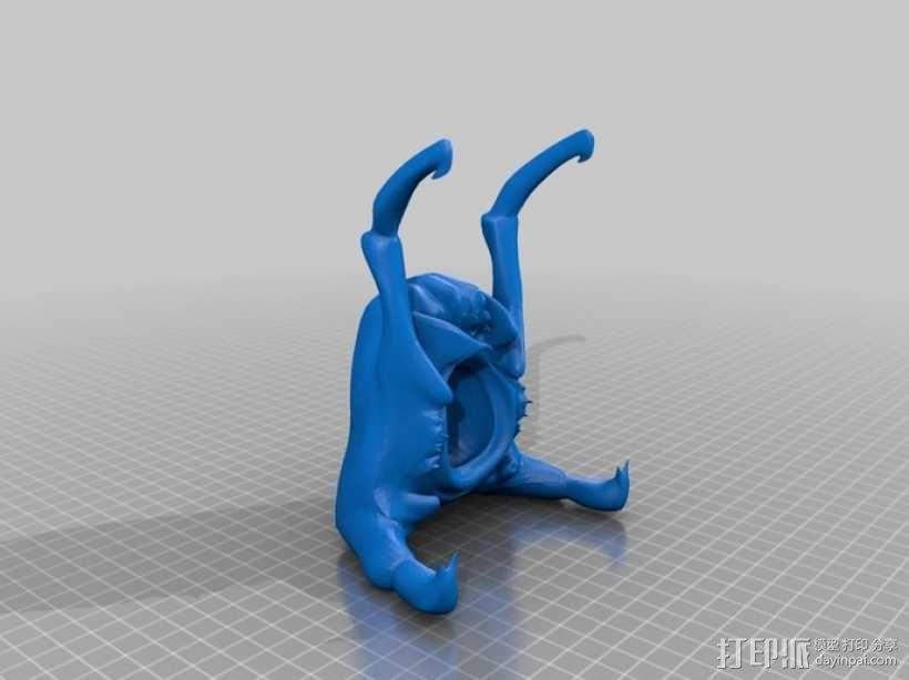猎头蟹 3D模型  图1