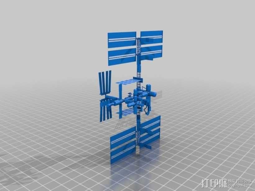 国际空间站模型 3D模型  图2