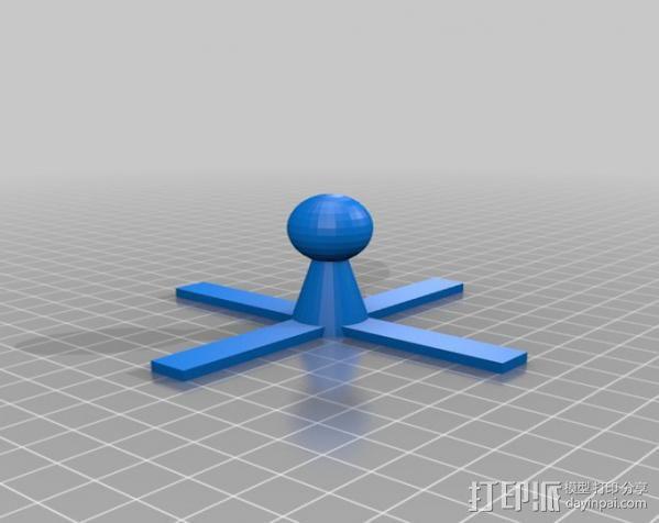 射电望远镜 3D模型  图3