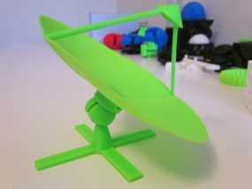射电望远镜 3D模型