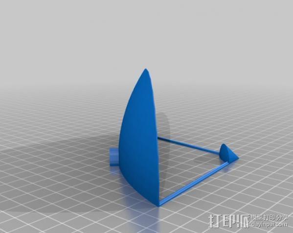 射电望远镜 3D模型  图4