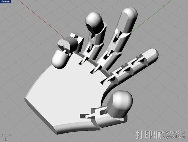 机器人的手 3D模型  图1