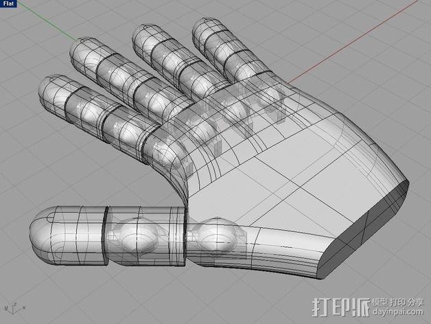 机器人的手 3D模型  图2
