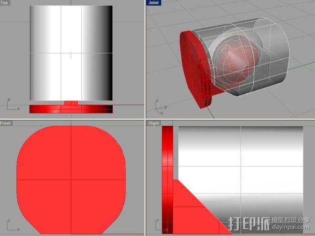 机器人的手 3D模型  图3