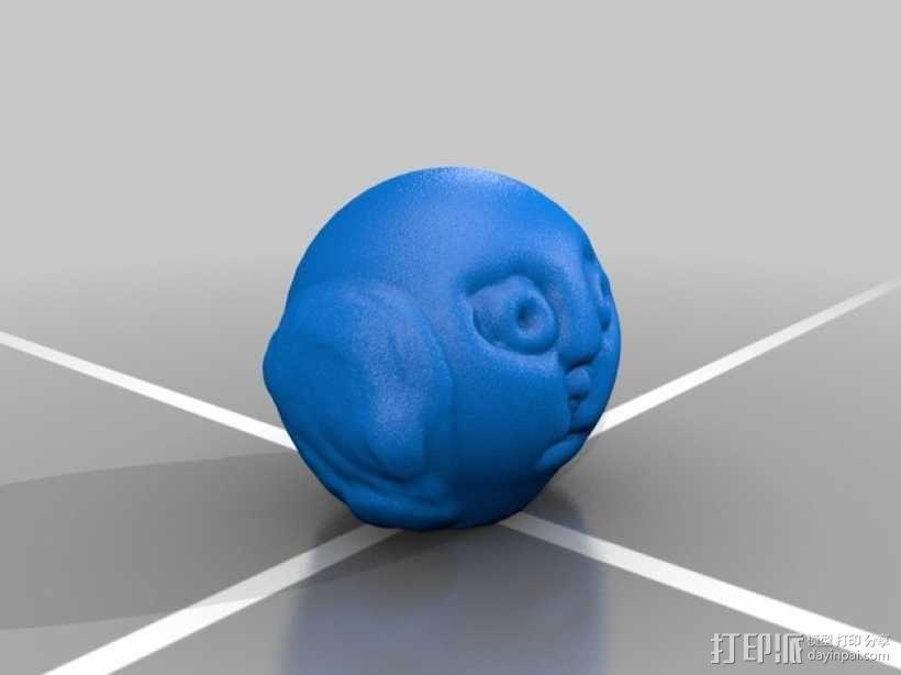 人头模型 3D模型  图3