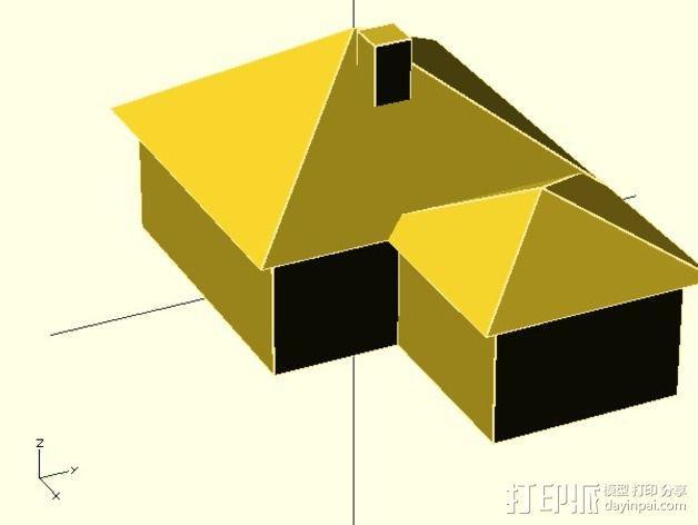 房屋模型 3D模型  图2