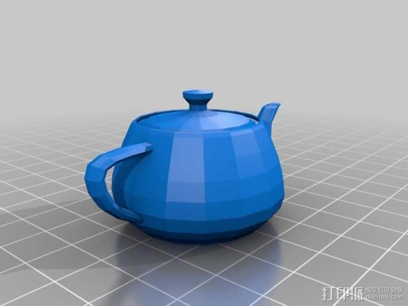 茶壶 3D模型  图2