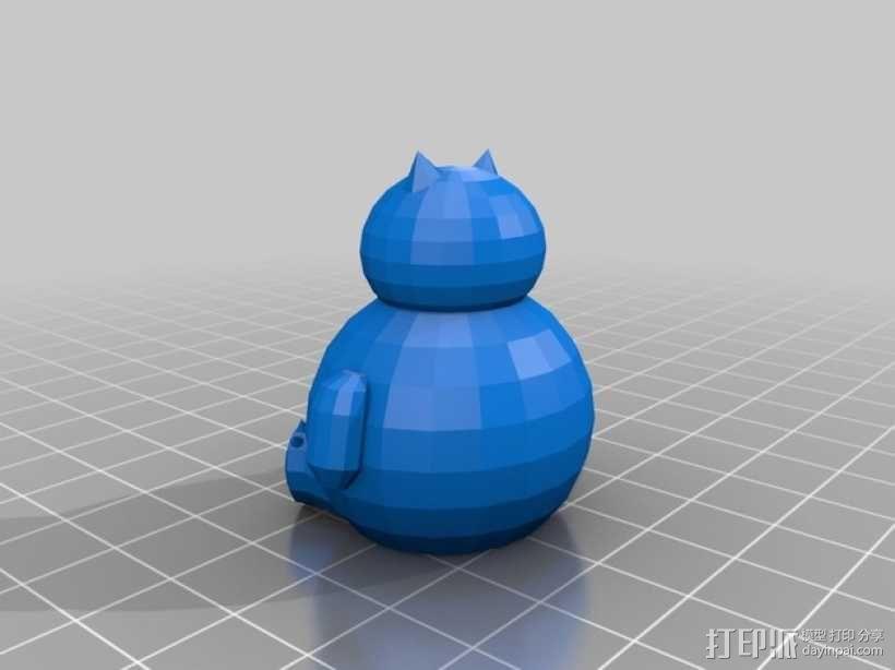 卡比兽 3D模型  图1