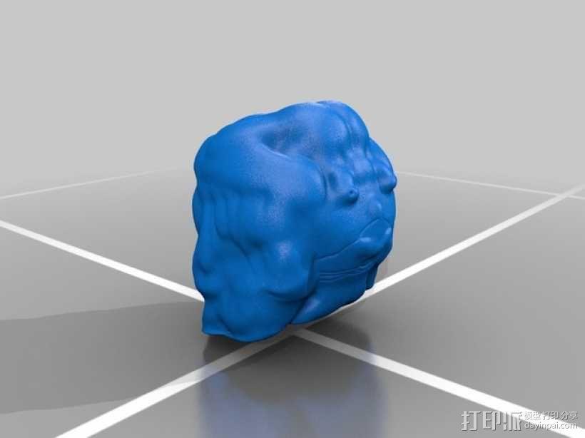 洛基卡通造型 3D模型  图2