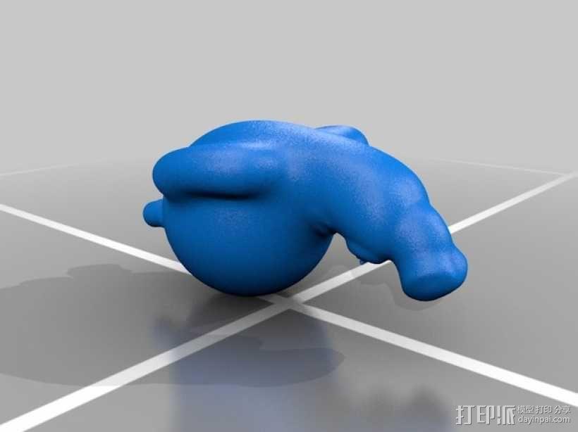 葫芦人 3D模型  图2