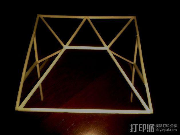 汽车展示厅建筑结构 3D模型  图4