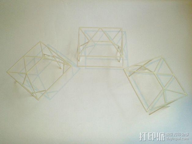 汽车展示厅建筑结构 3D模型  图5