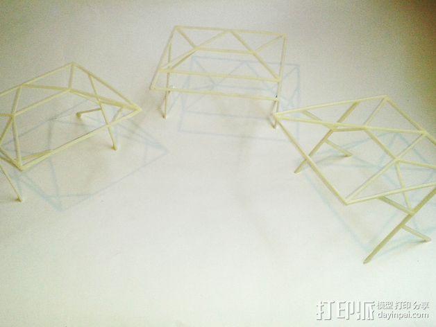 汽车展示厅建筑结构 3D模型  图6