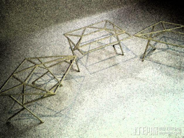 汽车展示厅建筑结构 3D模型  图7