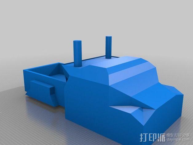 大卡车 3D模型  图1