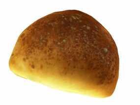 黄油面包 3D模型