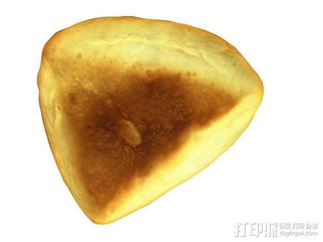 黄油面包 3D模型  图4