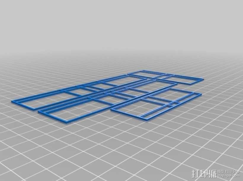 玻璃屋  3D模型  图3