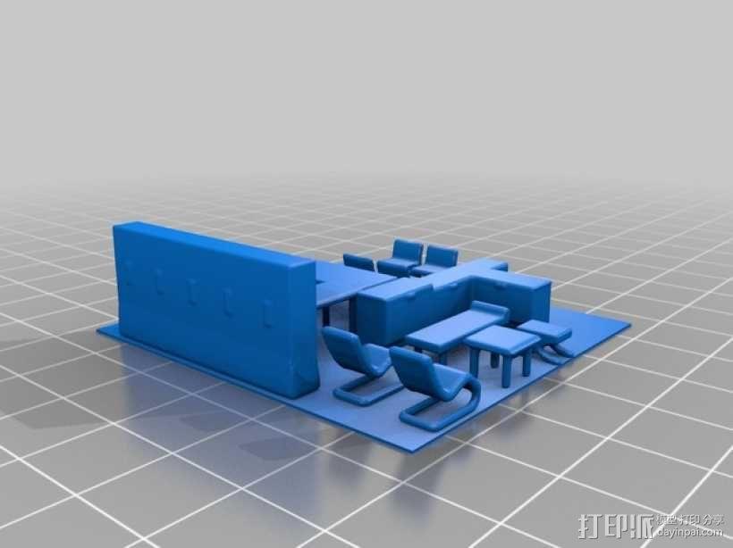 玻璃屋  3D模型  图4