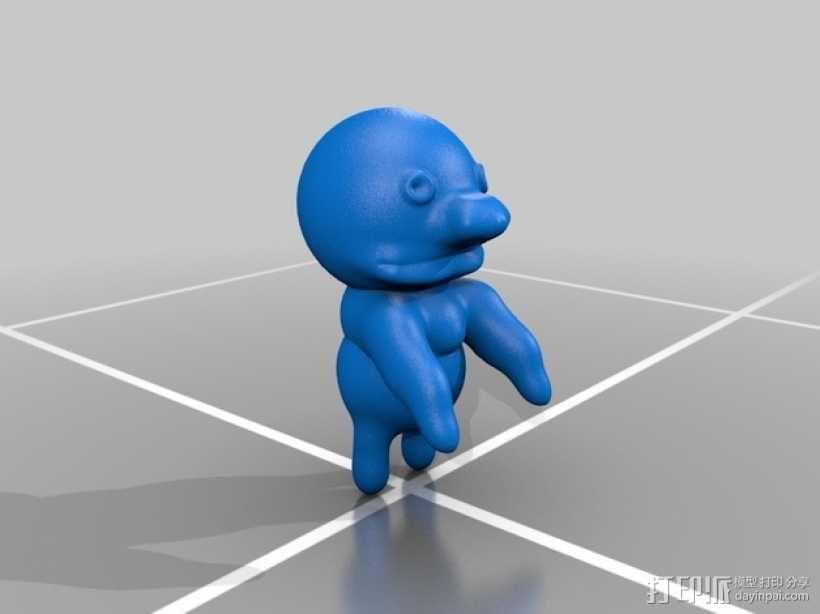 bert 和grover玩偶模型 3D模型  图2