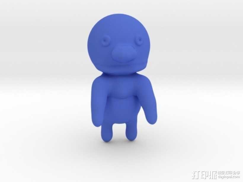 bert 和grover玩偶模型 3D模型  图4