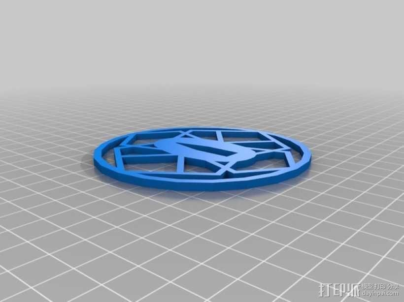 日本武士刀 刀架 3D模型  图1