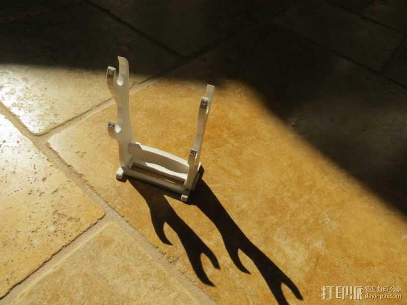 日本武士刀 刀架 3D模型  图5