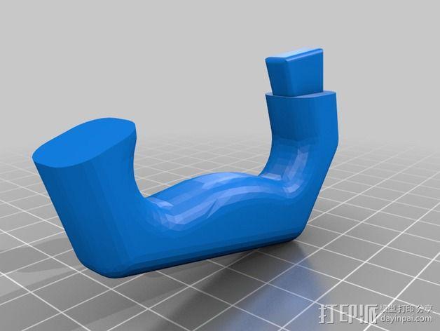提琴部件  3D模型  图1