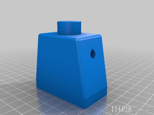 乐高人仔 听诊器 3D模型  图2
