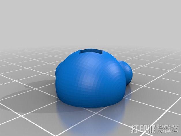 方杆头  3D模型  图3
