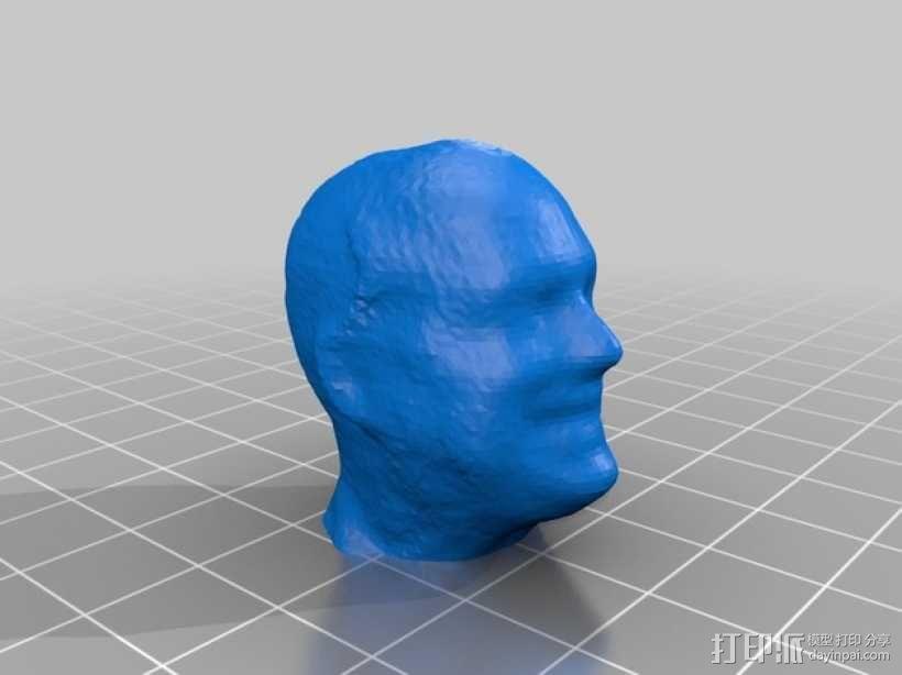 Patrick的头像模型 3D模型  图1