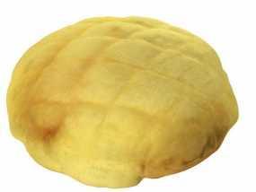 菠萝包 面包 3D模型
