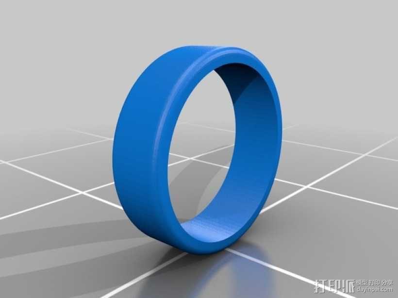 无轮毂的轮子 3D模型  图1