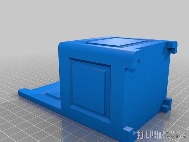 旧式椅子 3D模型  图3