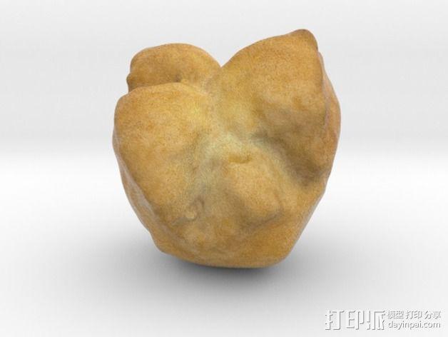沙翁 面包 3D模型  图4