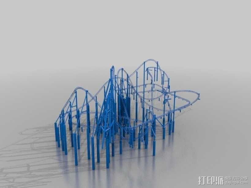 过山车 3D模型  图4