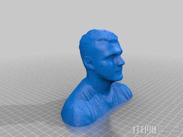 Aaron头部模型 3D模型  图1