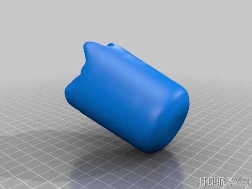 酸奶慕斯蛋糕 3D模型  图2