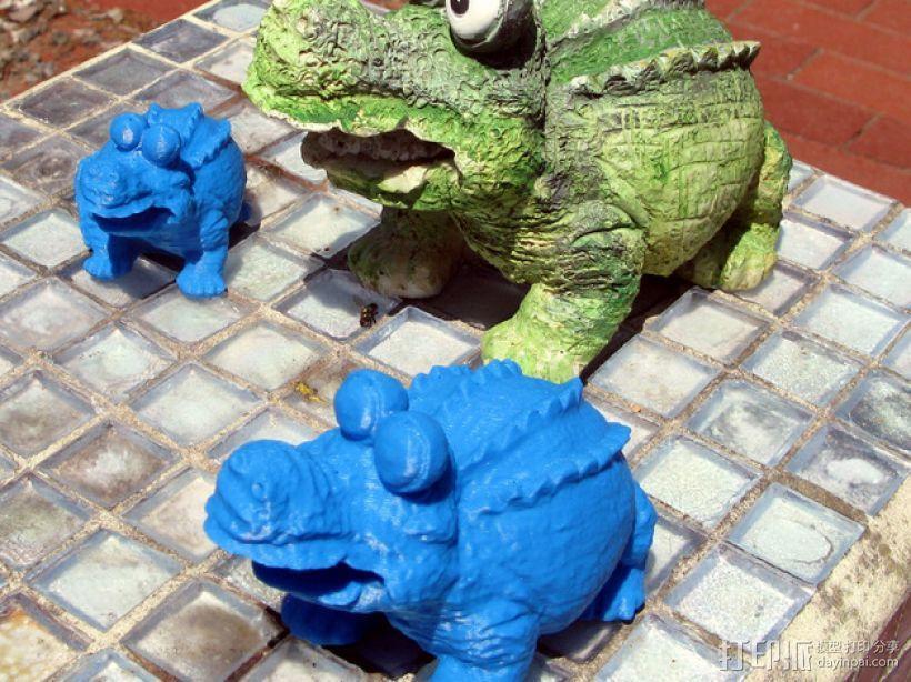 鳄鱼 3D模型  图1