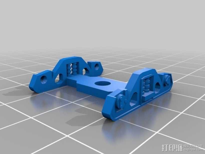 卡车车轮 3D模型  图1
