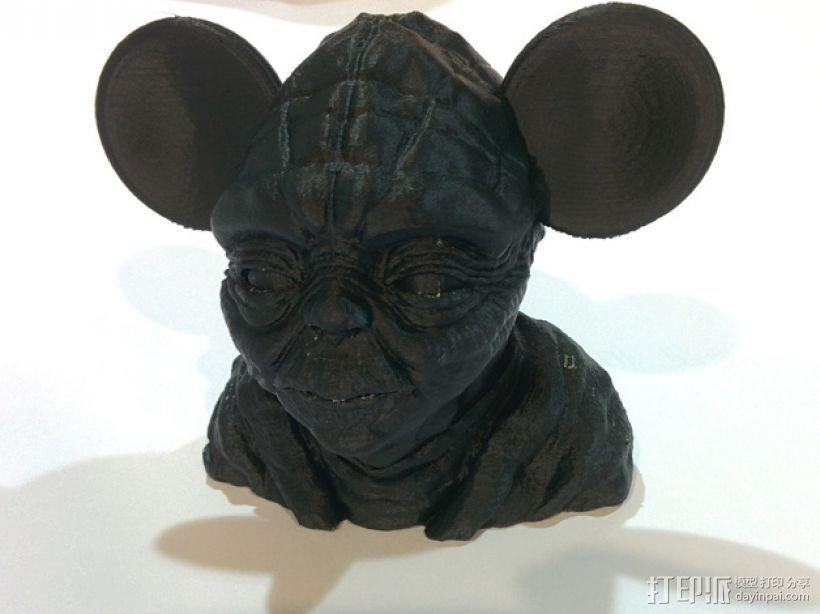 老鼠尤达 3D模型  图1