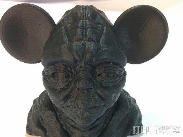 老鼠尤达 3D模型  图3