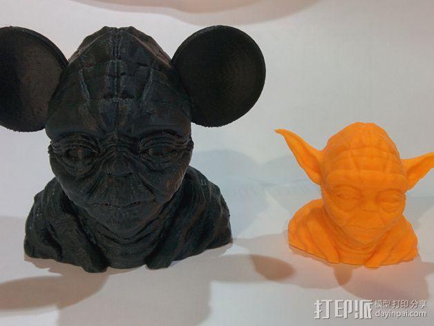 老鼠尤达 3D模型  图4