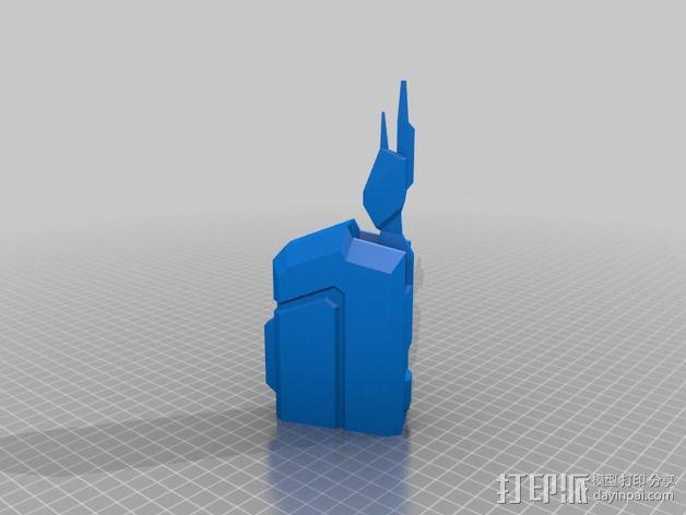 Vagyr Destroyer飞船 3D模型  图2