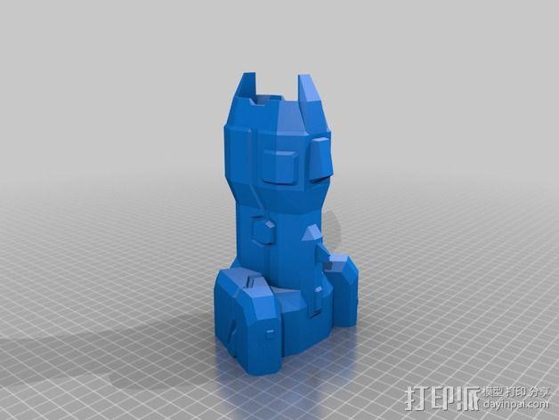 Vagyr Destroyer飞船 3D模型  图4